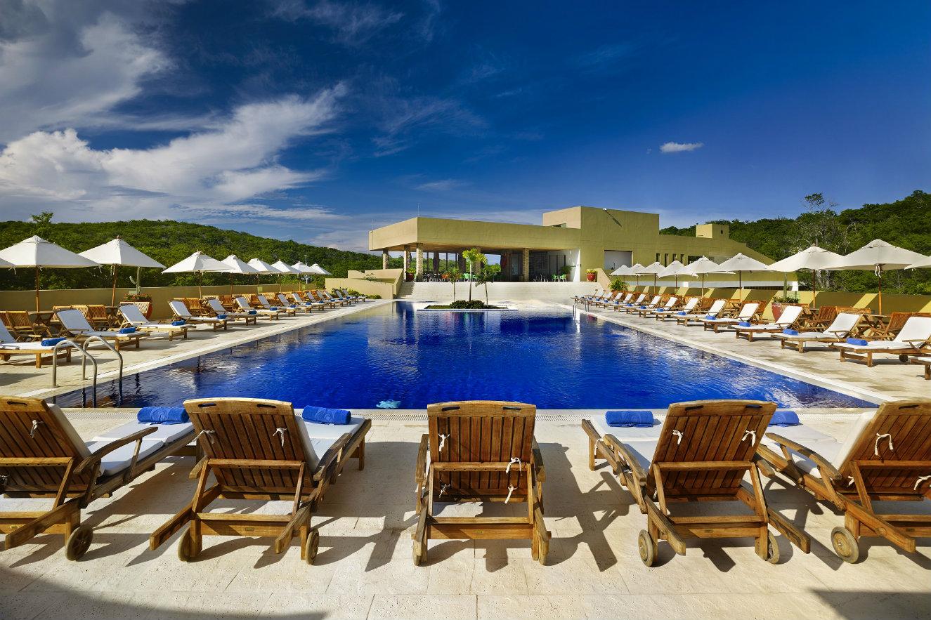Zona de piscina del hotel Waya Guajira. Fotografía: cortesía, OxoHotel.