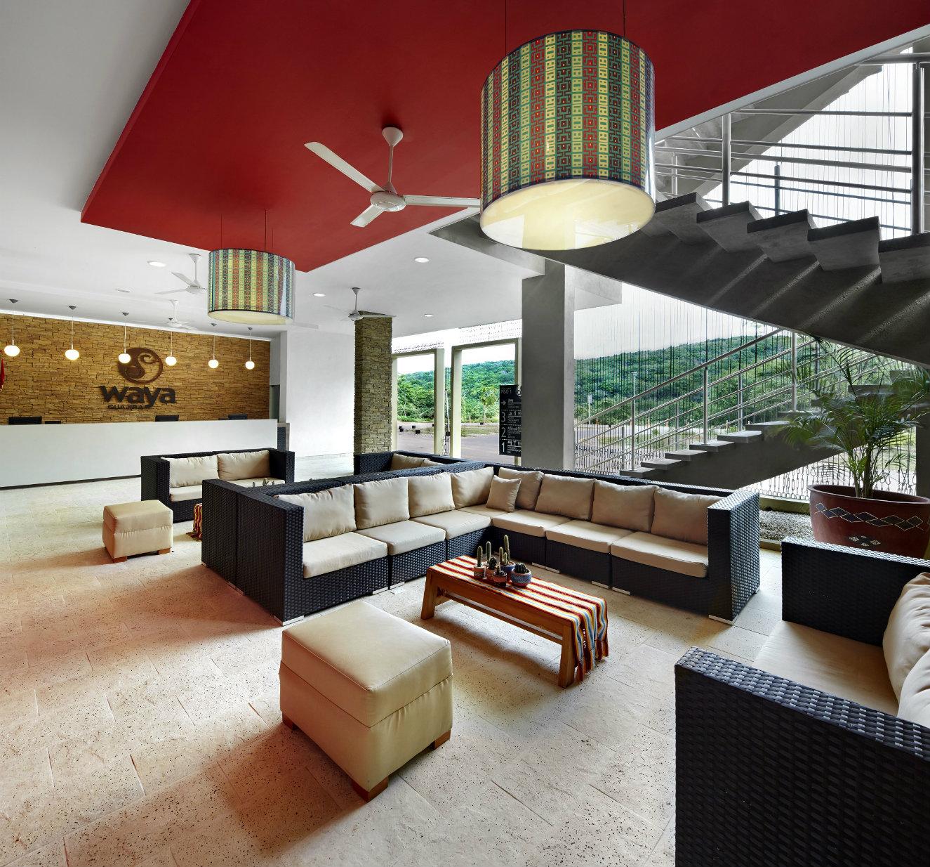 Lobby del Waya Guajira. Fotografía: cortesía, OxoHotel.