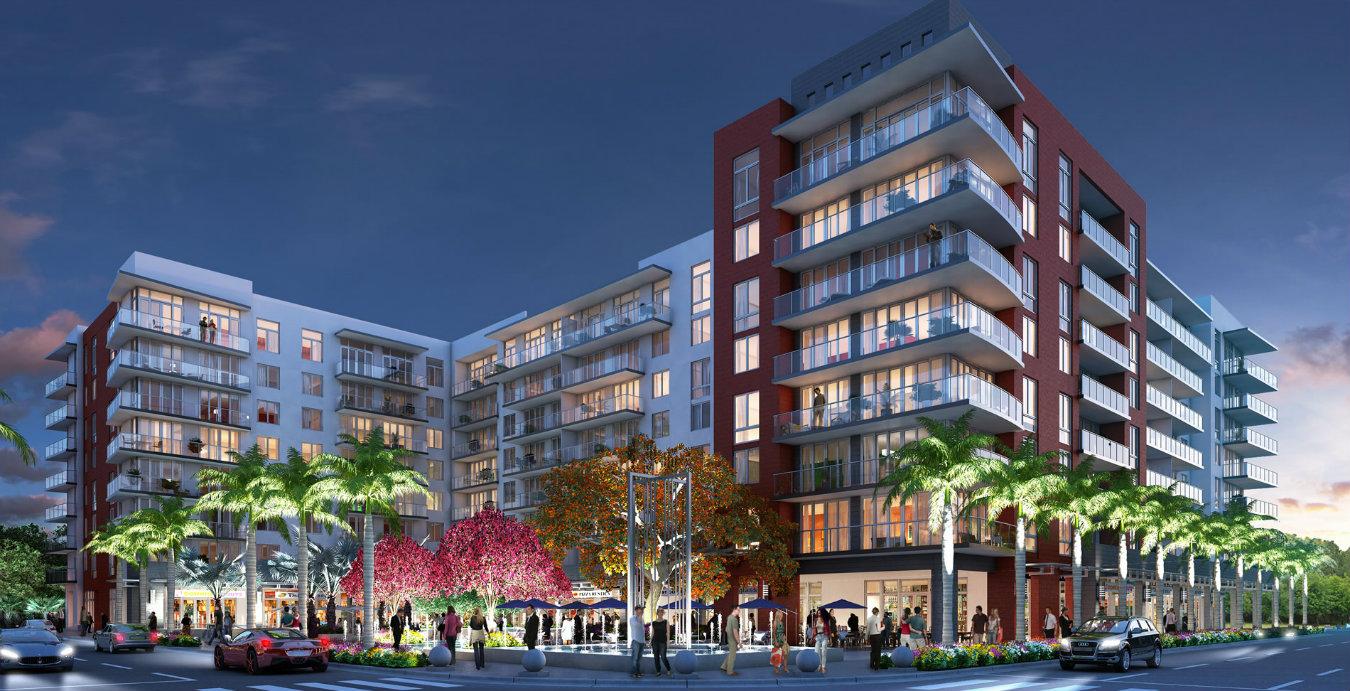 Poryecto residencial Midtown Doral, en la ciudad de Miami. Render: cortesía Expo Hábit Bogota.
