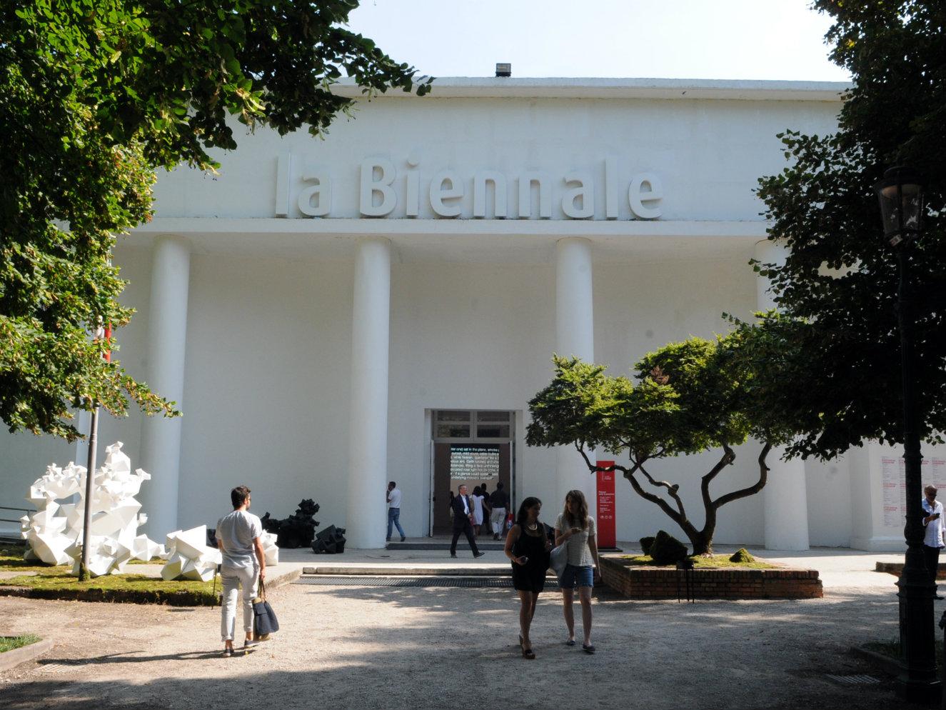 Pabellón central. Fotografía: cortesía, Bienal de Venecia.