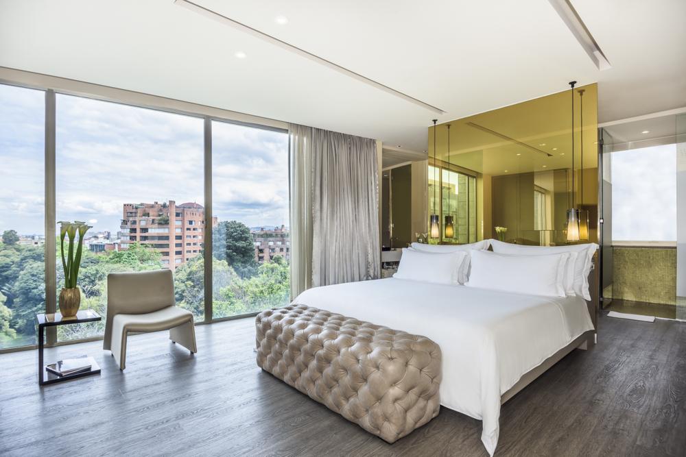 Una de las suites. Fotografía: cortesía, B.O.G. Hotel.