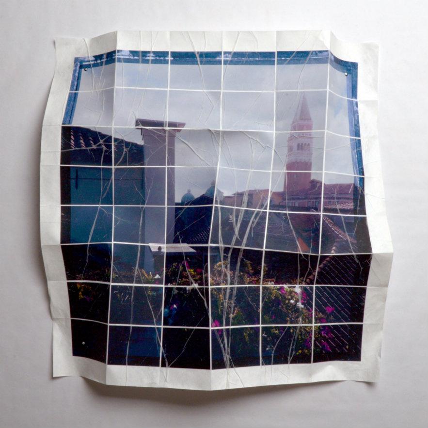 Germa Gomez, Venecia No.5. Serie Deconstruyendo Ciudades. Cortesía, galería El Museo,