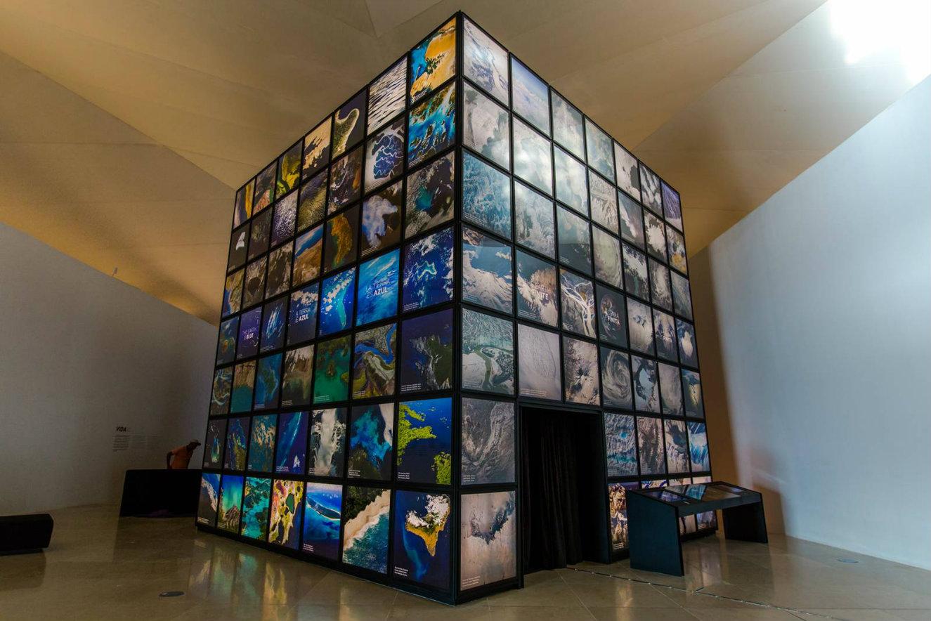 Los recursos tecnológicos desempeñan un papel protagónico en las salas de exhibición. Fotografía: cortesía, Museo del Mañana.