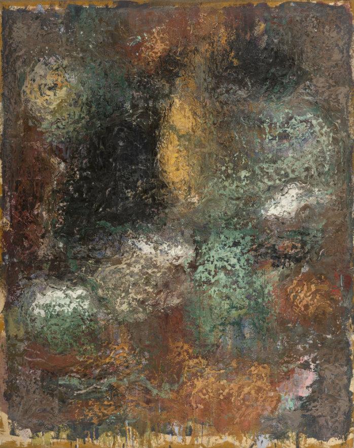 Luis Fernando Roldán. De la serie Parque de la Independencia, óleo sobre tela. 123 x 97 cm. 1994.