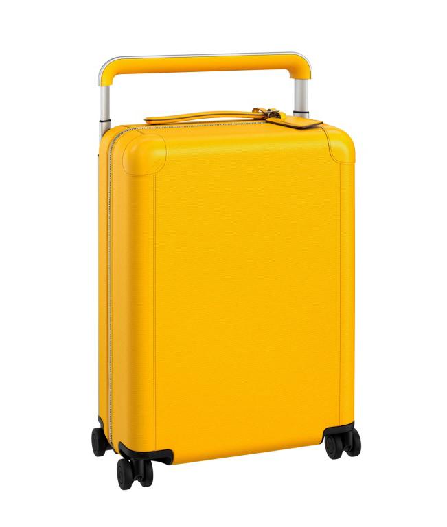 Maleta Citron. Las maletas que vienen viene en dos tamaños para la cabina, la 50 (de 50 x 35 x 20 cm) y la 55 (de 55 x 39 x 21 cm), –el tamaño 70, adecuado para check-in, se incluirá posteriormente–. Fotografía: cortesía LV
