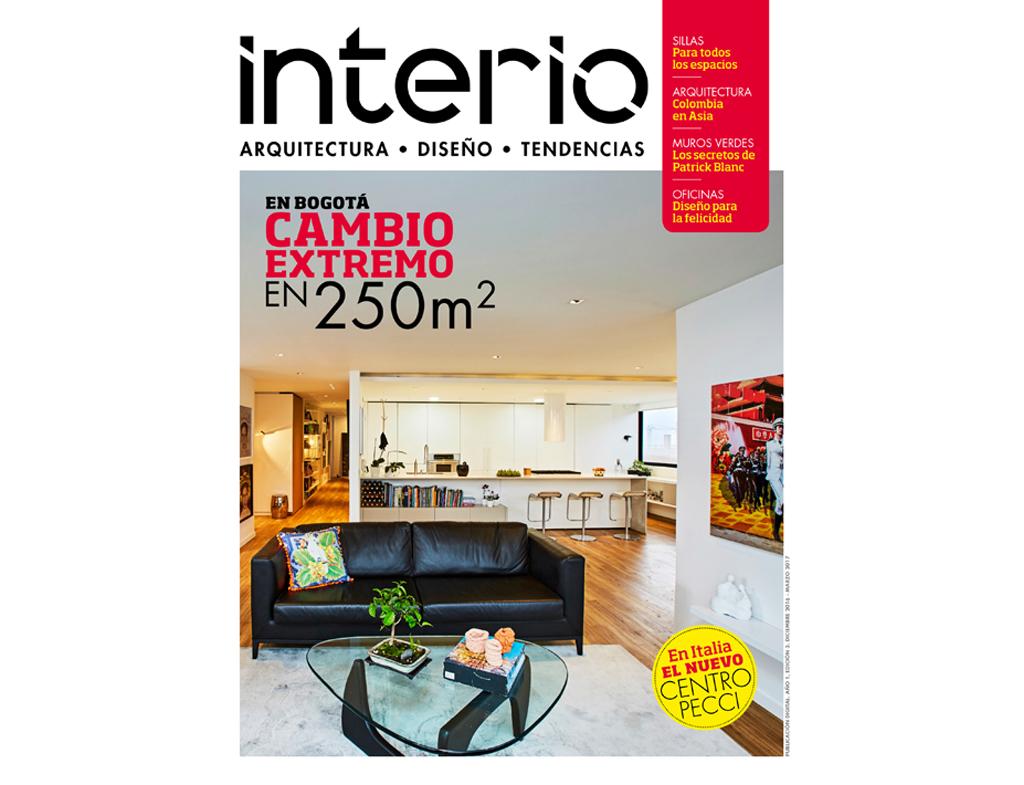 Revista interio edici n 3 arquitectura dise o for Revista arquitectura y diseno