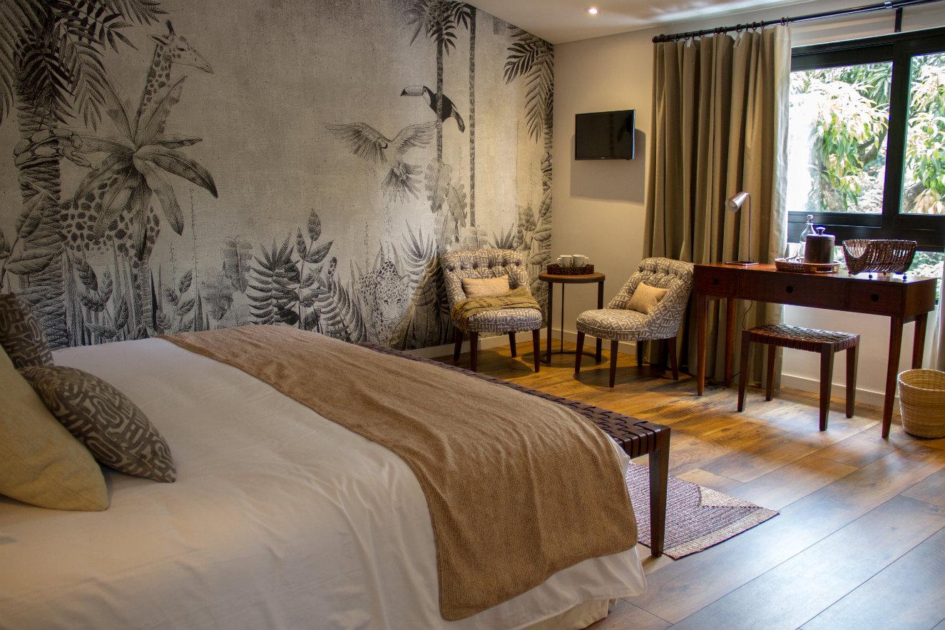 Habitacion Africa hotel Patio del Mundo Medellin