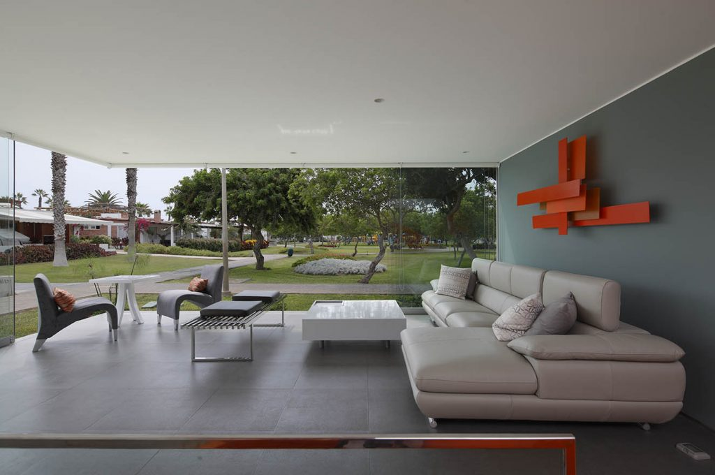 Sala Casa Blanca arquitecto Martin Dulanto