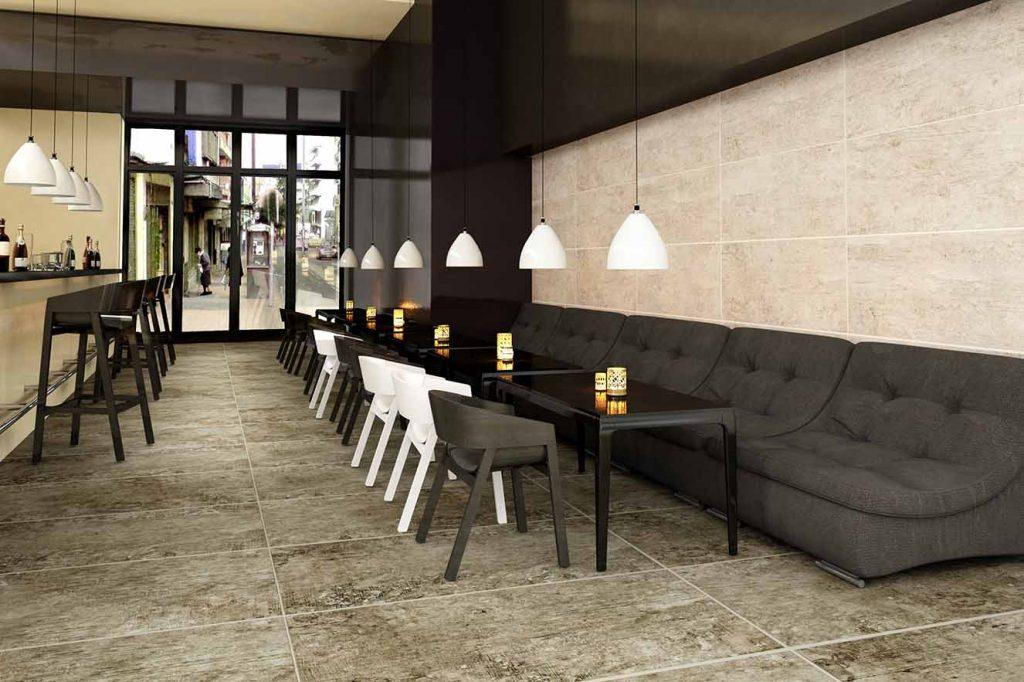 Cerámica Italia propone la madera cerámica 'Casano' de la colección Magna, de formato rectangular, 45 x 90 cm, el más grande que se fabrica en Colombia. Sirve para pisos y paredes porque brinda la apariencia de la madera pero con todas las ventajas de la cerámica.