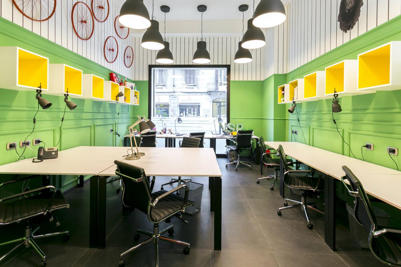 Iworkhere oficina para emprendedores arquitectura for Oficinas de diseno y arquitectura