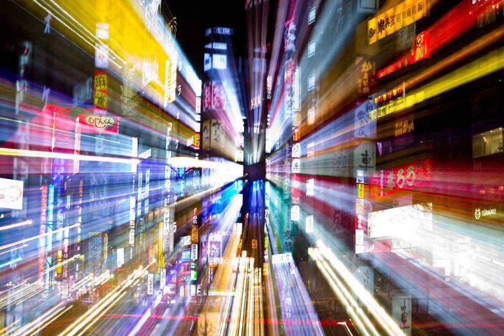 Nippon I. C-print sobre plexi glass y leds, 100 x140 cm. Edición 5/5. 2012.