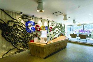 Proyecto sostenible. Oficinas Google Colombia.