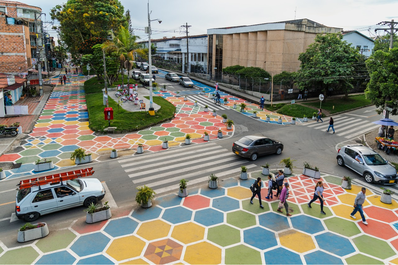 Plaza de la Libertad Bienal de Arquitectura